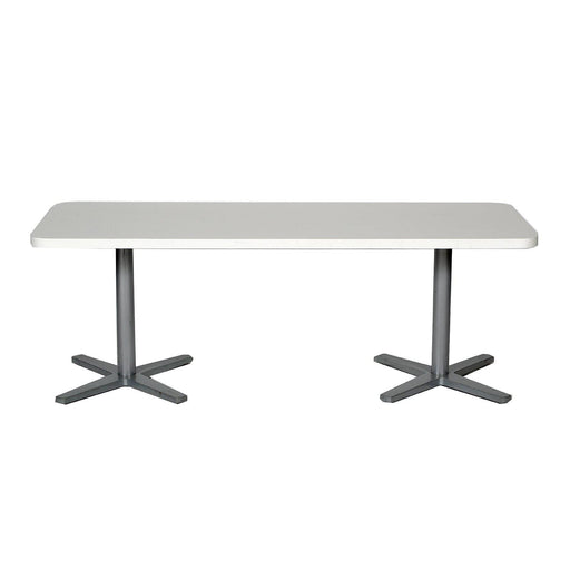 Table basse occasion - Blanc - 135 x 52 x 48 cm-Bluedigo