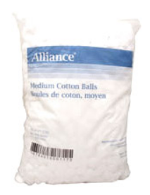 ALLIANCE 211-CTBM Cotton Balls, Non-Sterile, Medium-Size, bag of 2000
