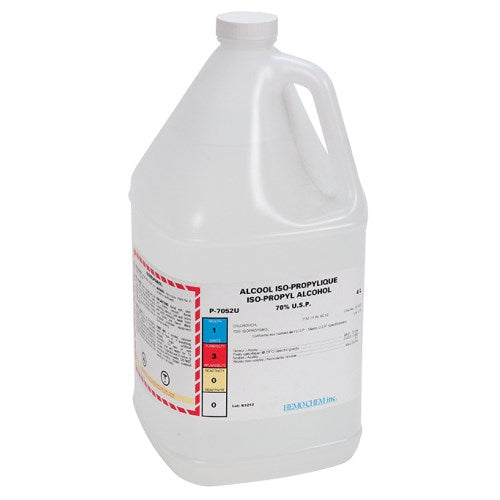 Alcohol isopropyl 70%, 4 Litre bottle