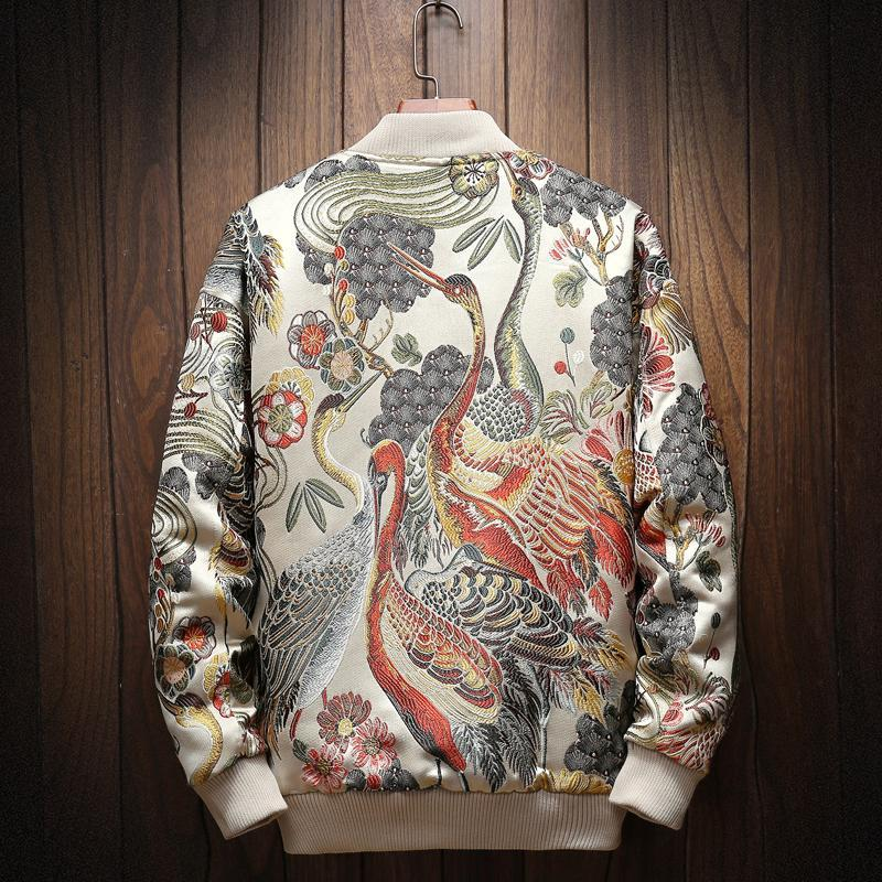 Japanese Embroidered Bomber