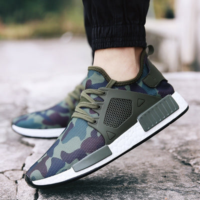 Society Camo Running Shoes