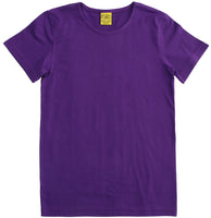 Solid | Short Sleeve Top | Purple