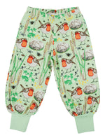 All over printed | Baggy Pants | Robin - Nile Green