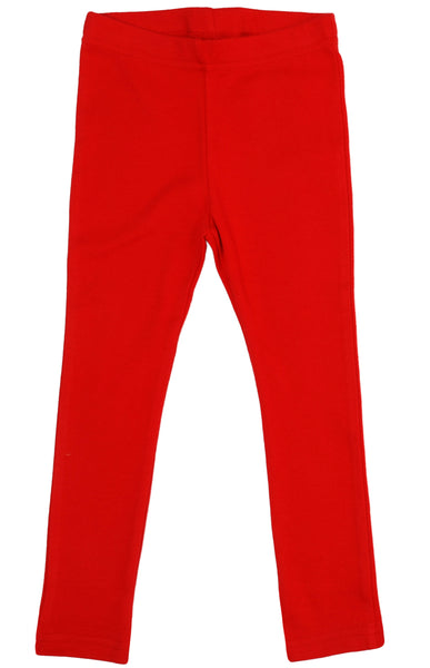 Solid | Leggings | Poppy Red