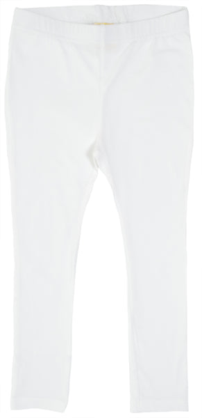 Solid | Leggings | White