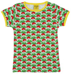 Short Sleeve Top | Radish - Green
