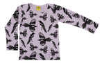 Long Sleeve Top | Mushroom Forest - Violet