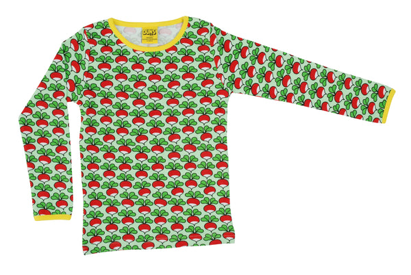 Long Sleeve Top | Radish - Green