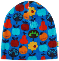 Double Layer Hat | Velour Fruits - Blue