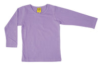 Solid | Long Sleeve Top | Medium Violet
