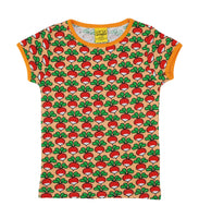 Short Sleeve Top | Radish - Canteloupe