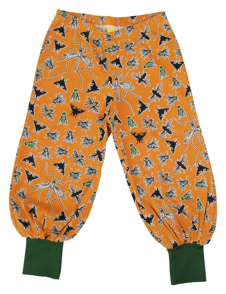 All over printed | Baggy Pants | Flies - Dark Cheddar