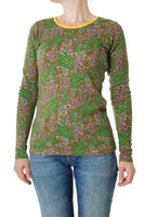 Long Sleeve Top | Willowherb - Olive Branch Green