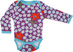 Long Sleeve Body | Flower - Amethyst Orchid