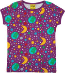 Short Sleeve Top | Mother Earth - Bright Violet