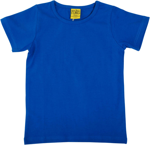 Solid | Short Sleeve Top | Blue