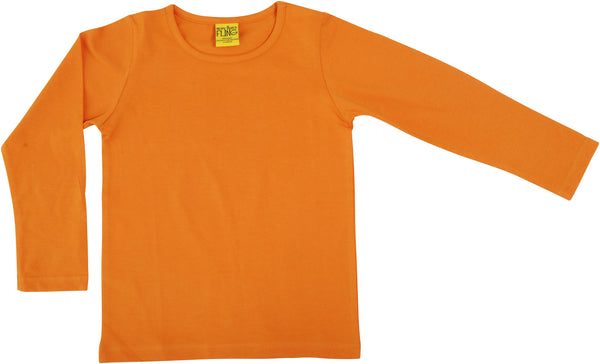 Solid | Long Sleeve Top | Dark Cheddar