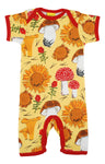 Summer Suit | Sunflower and Mushrooms - Yellow