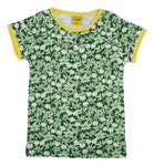 Short Sleeve Top | Wood Anemone - Green