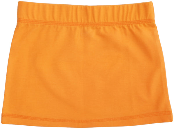 Solid | Skirt | Orange