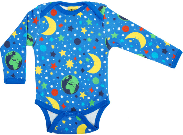 Long Sleeve Body | Mother Earth - Blue
