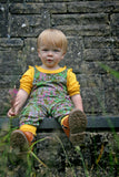 Dungaree | Willowherb - Olive Branch Green