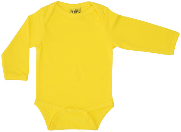 Solid | Long Sleeve Body | Cool Yellow