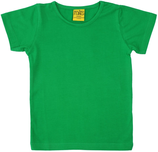 Solid | Short Sleeve Top | Green