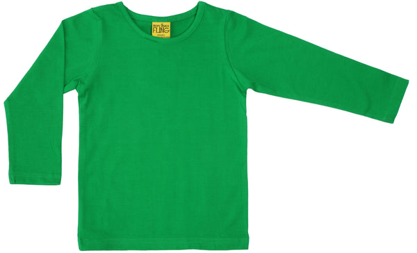 Solid | Long Sleeve Top | Green
