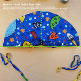 Faulty Strings - Sun Hat | Space - Navy  (Second Sorting)