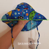 Faulty Strings - Sun Hat | Space - Blue (Second Sorting)