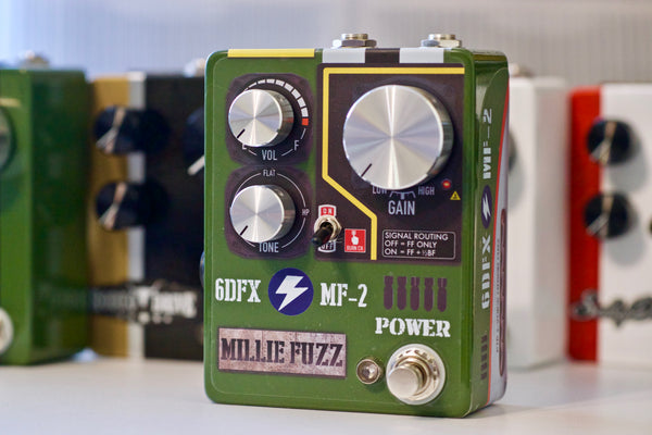 p2p handwired fuzz face big muff