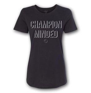 Champion Minded - White Ink