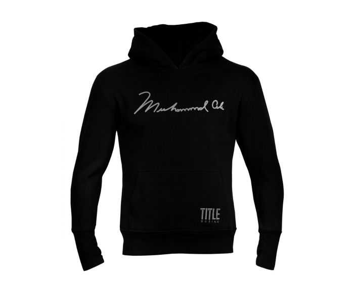 ALI Hooded Sweatshirt - Black