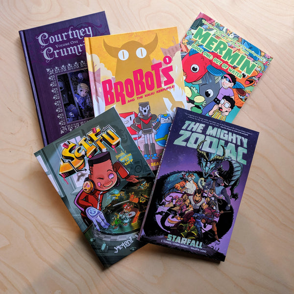 Graphic Novels for Middle Readers