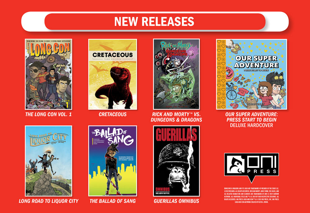 Oni Press ECCC New Releases