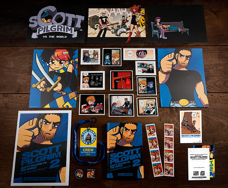 Scott Pilgrim Volume 2 Collector's Edition