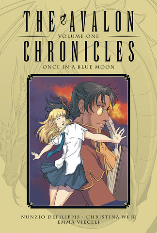 Avalon Chronicles V1 HC - Once in a Blue Moon