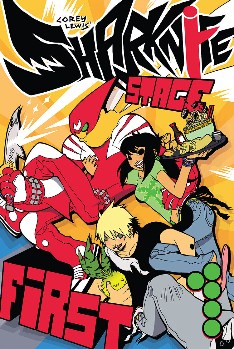 Sharknife Vol. 1