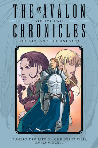 Avalon Chronicles V2 HC - The Girl and the Unicorn