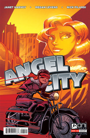 Angel City #1 - Oeming Variant