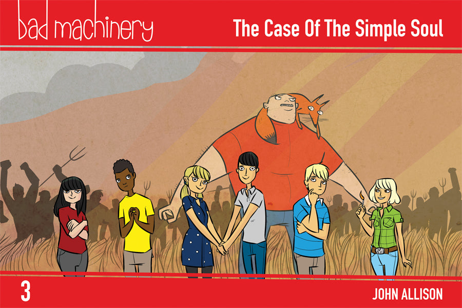 Bad Machinery Vol. 3 - Pocket Edition