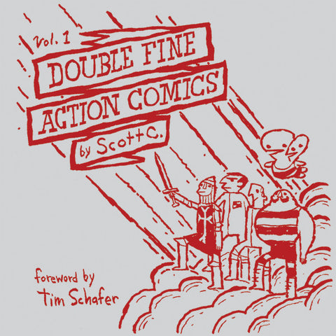 Double Fine Action Comics Vol. 1: Collector's Edition