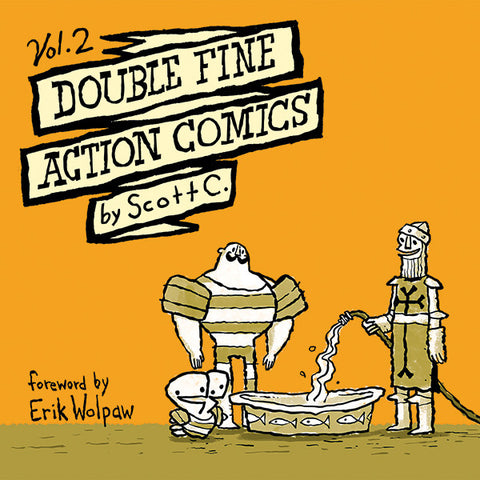 Double Fine Action Comics Vol. 2 - Softcover