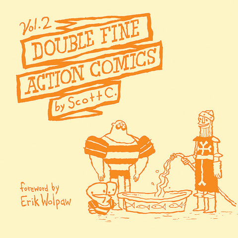 Double Fine Action Comics Vol. 2: Oni Exclusive - Hardcover