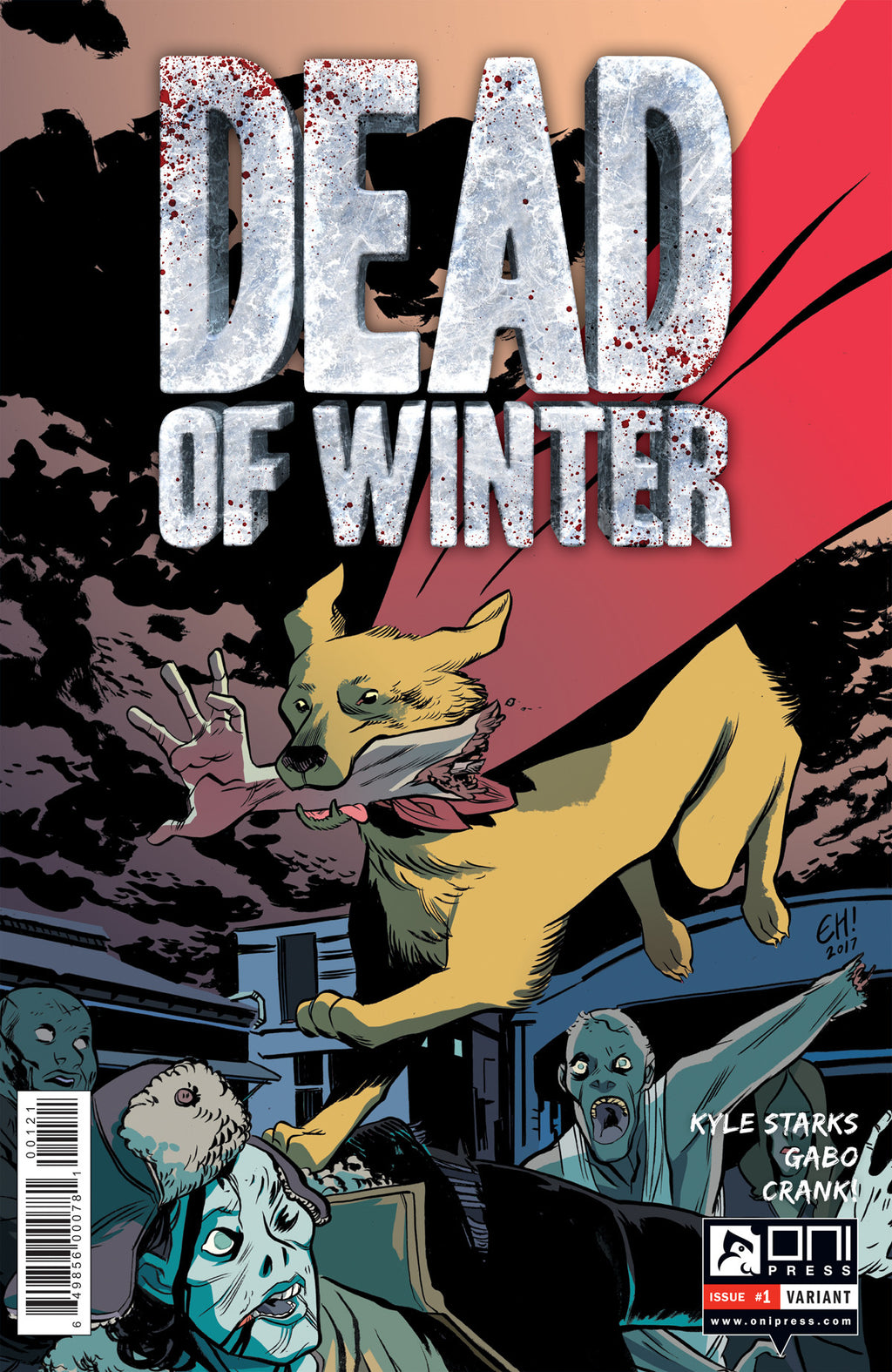 Dead of Winter #1 - Erica Henderson variant
