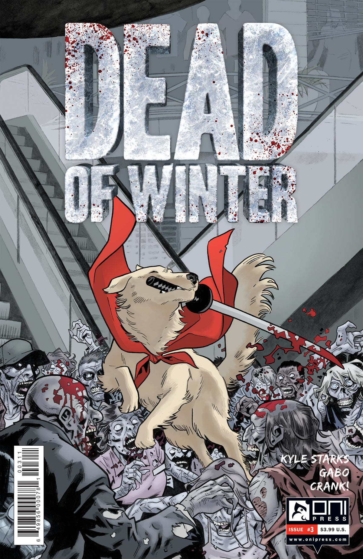 Dead of Winter #3 - Oni Press