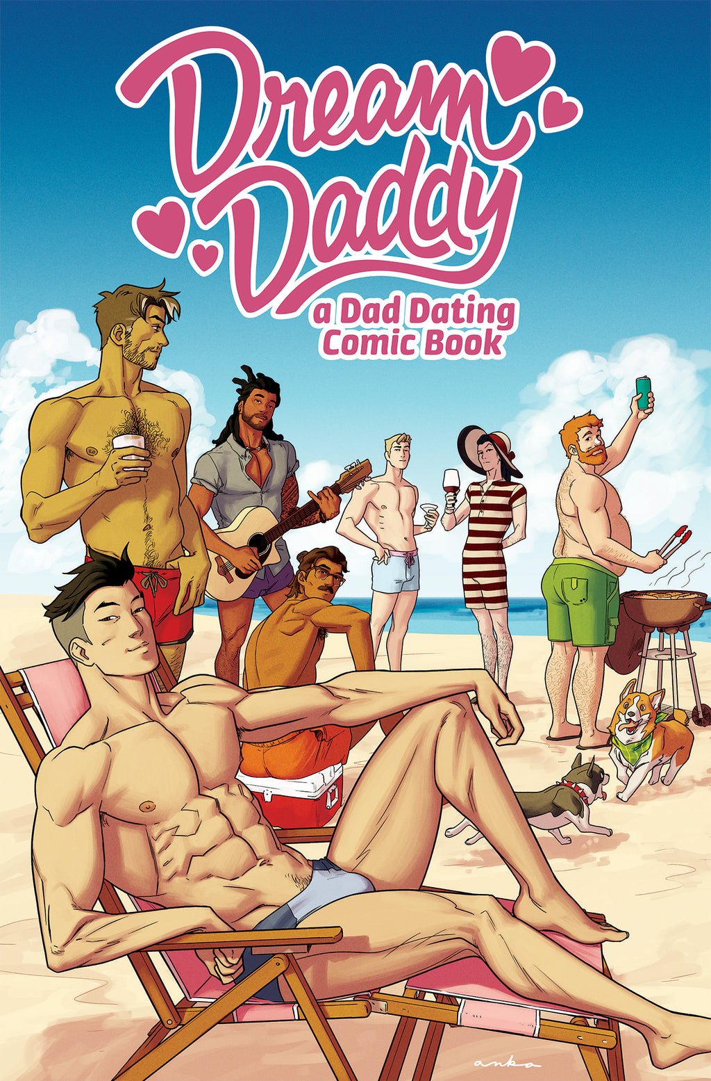 Dream Daddy: Oni Exclusive - Hardcover