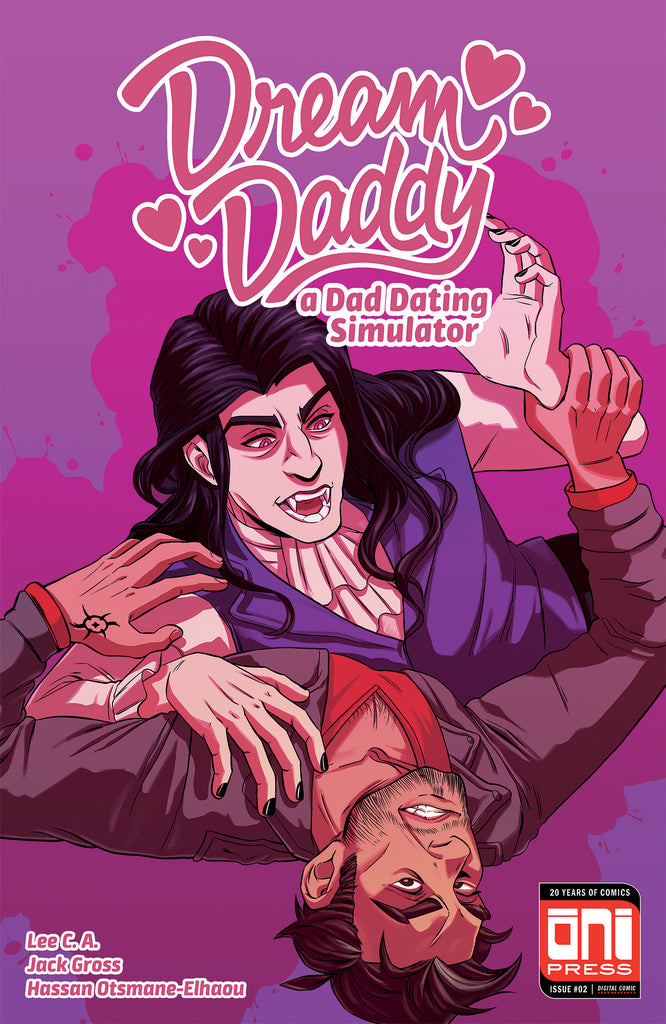 Dream Daddy #2: Digital Edition Cover