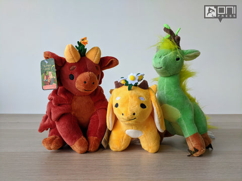 The Tea Dragon Society Plush Bundle